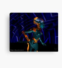 NEMES / HYPER ANDROID FROM HYPERION WORLD Sci-Fi Movie Canvas Print