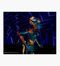 NEMES / HYPER ANDROID FROM HYPERION WORLD Sci-Fi Movie Photographic Print