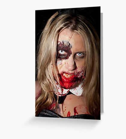 0765 Zombie 59 Greeting Card