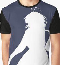 Nagisa Winter Coat White - Clannad Graphic T-Shirt
