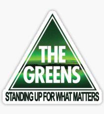 Greens Stand Up Sticker