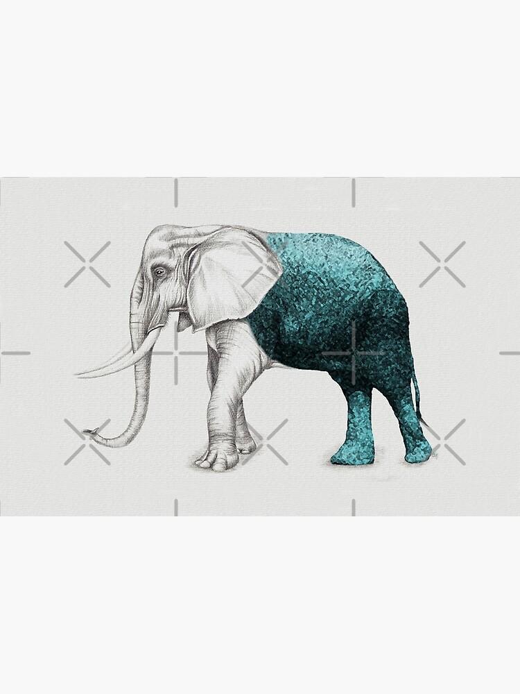The Stone Elephant by beththompsonart