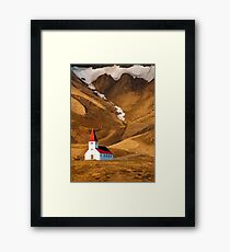 Church at Vik Framed Print