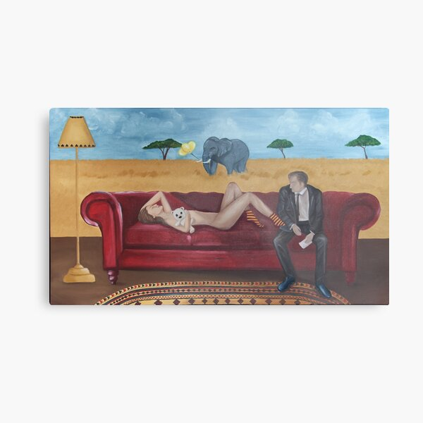 Therapy - Wounded Warrior - Frustration Metal Print