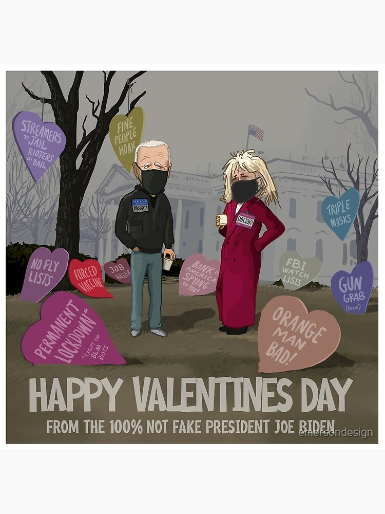 Happy Valentine's Day from Joe and Jill Biden (2021) by emersondesign