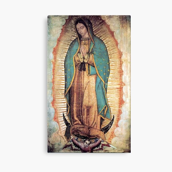 Original Picture of Our Lady of Guadalupe Canvas Print