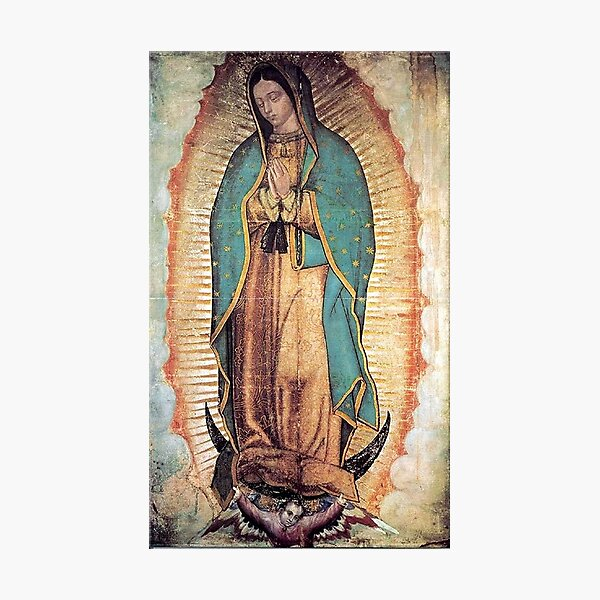 Original Picture of Our Lady of Guadalupe Photographic Print