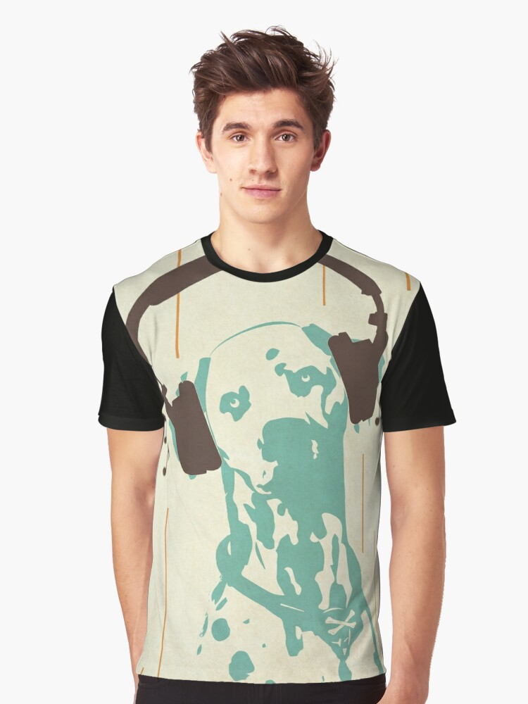 Dogmusic Graphic T-Shirt Front