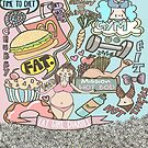 Fat Girl Diaries Doodle by Priyanka Paul