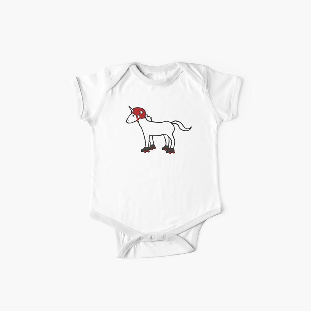 Roller Derby Einhorn Baby Bodys