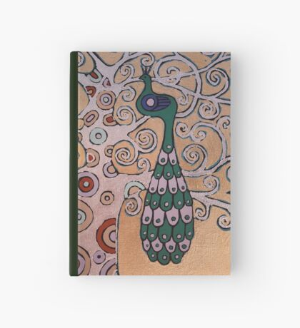 Peacock In A Tree Hardcover Journal