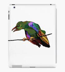 psychedelic bird iPad Case/Skin