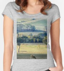 Autumn view Women's Fitted Scoop T-Shirt