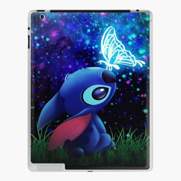 stitch butterfly Starry sky iPad Skin