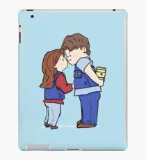 coffee and kisses iPad Case/Skin