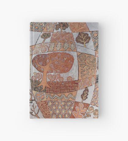 Sunset Forest Hardcover Journal