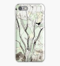Crows in the Sycamore iPhone Case/Skin