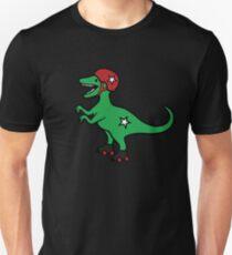 Roller Derby Velociraptor Slim Fit T-Shirt