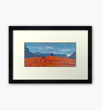 Barnesmore Gap, Donegal, Ireland Framed Print