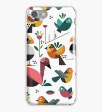 Geo Birds iPhone Case/Skin
