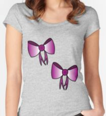 Bows Women's Fitted Scoop T-Shirt