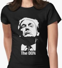 Donald Trump The Don Godfather Women's Fitted T-Shirt