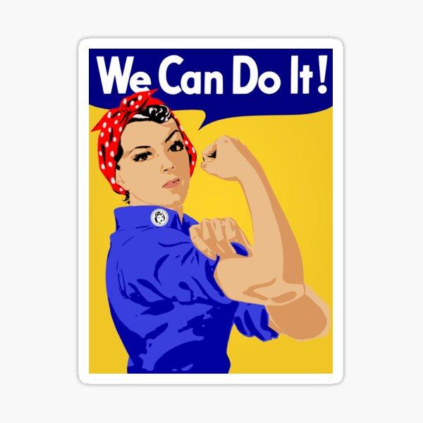 Podemos hacerlo! Pegatina