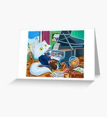 Ludwig van Caathoven Greeting Card