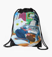 Ludwig van Caathoven Drawstring Bag