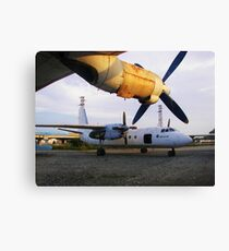 Aircraft Graveyard Canvas Print