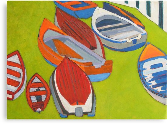 Coliemore Boats 2, Dalkey by eolai