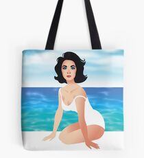 Suddenly Liz Tote Bag