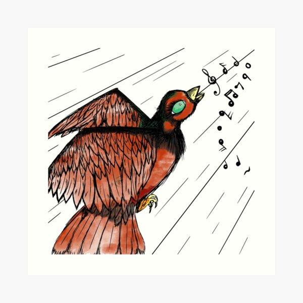 Sing My Little Bird Art Print