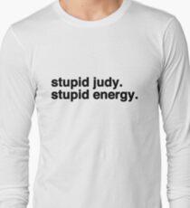 Stupid Judy Stupid Energie Langarmshirt