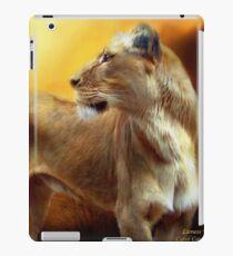 Lioness Is Near 1 iPad Case/Skin