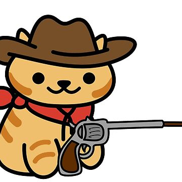 Billy the Kitten *BANG* (Neko Atsume) by Iceyuk
