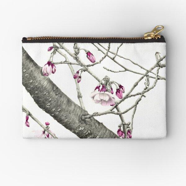 April Blossoms Zipper Pouch