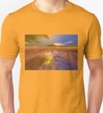 HYPERION WORLD /ALIEN SEASCAPE SKY AND CLOUDS  Sci-Fi T-Shirt
