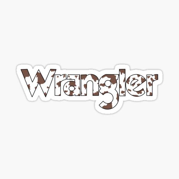The Wranglin' Sticker