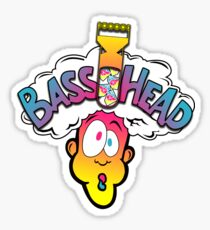 Sour Face & Heavy Bass Sticker