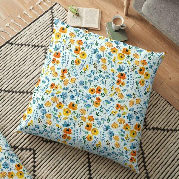 Sunday Brunch Floor Pillow