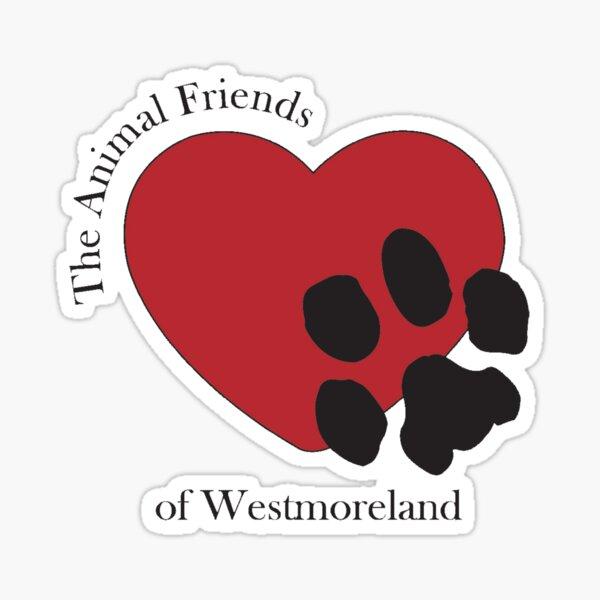 Animal Friends of Westmoreland Logo Sticker