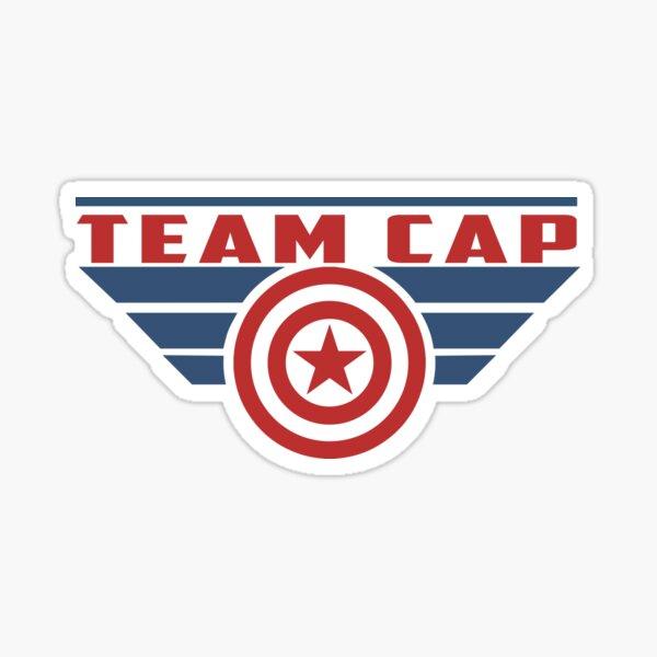 S'IL VOUS PLAÎT SUPPORT CAP D'ÉQUIPE Sticker