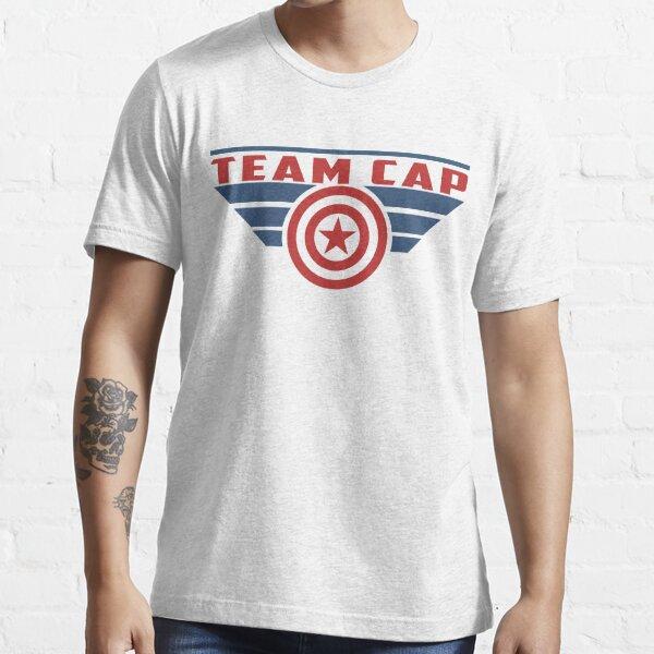 PLEASE SUPPORT TEAM CAP Essential T-Shirt