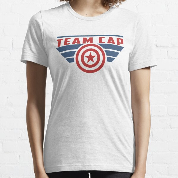 PLEASE SUPPORT TEAM CAP Essential T-Shirt