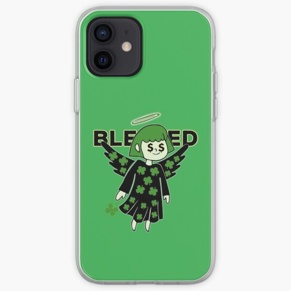Lucky Clover Blessed Angel - Good Luck Charm iPhone Soft Case