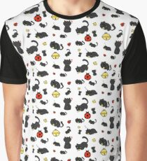 Ladybug and the cat Graphic T-Shirt