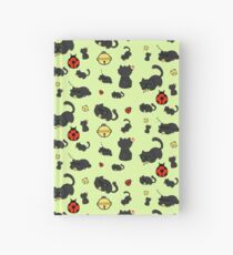 Ladybug and the cat Hardcover Journal