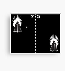 Game of Ping Pong Canvas Print