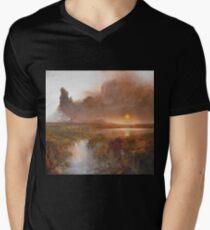 Vintage famous art - Frederic Edwin Church - American Landscape T-Shirt
